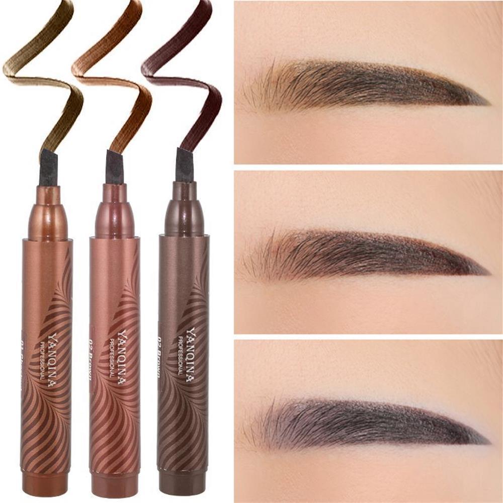 Eyebrow Pencil Tint Eyebrow Liquid Waterproof 72h Long Lasting
