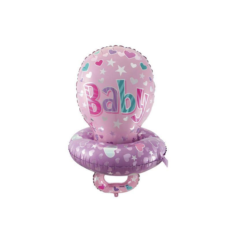 Grand Mignon Bébé Sucette Mamelon Feuille Ballons pour Enfants Bébé Douche D'anniversaire Disposition Parti Décoration Ballons Cadeaux LZ1739