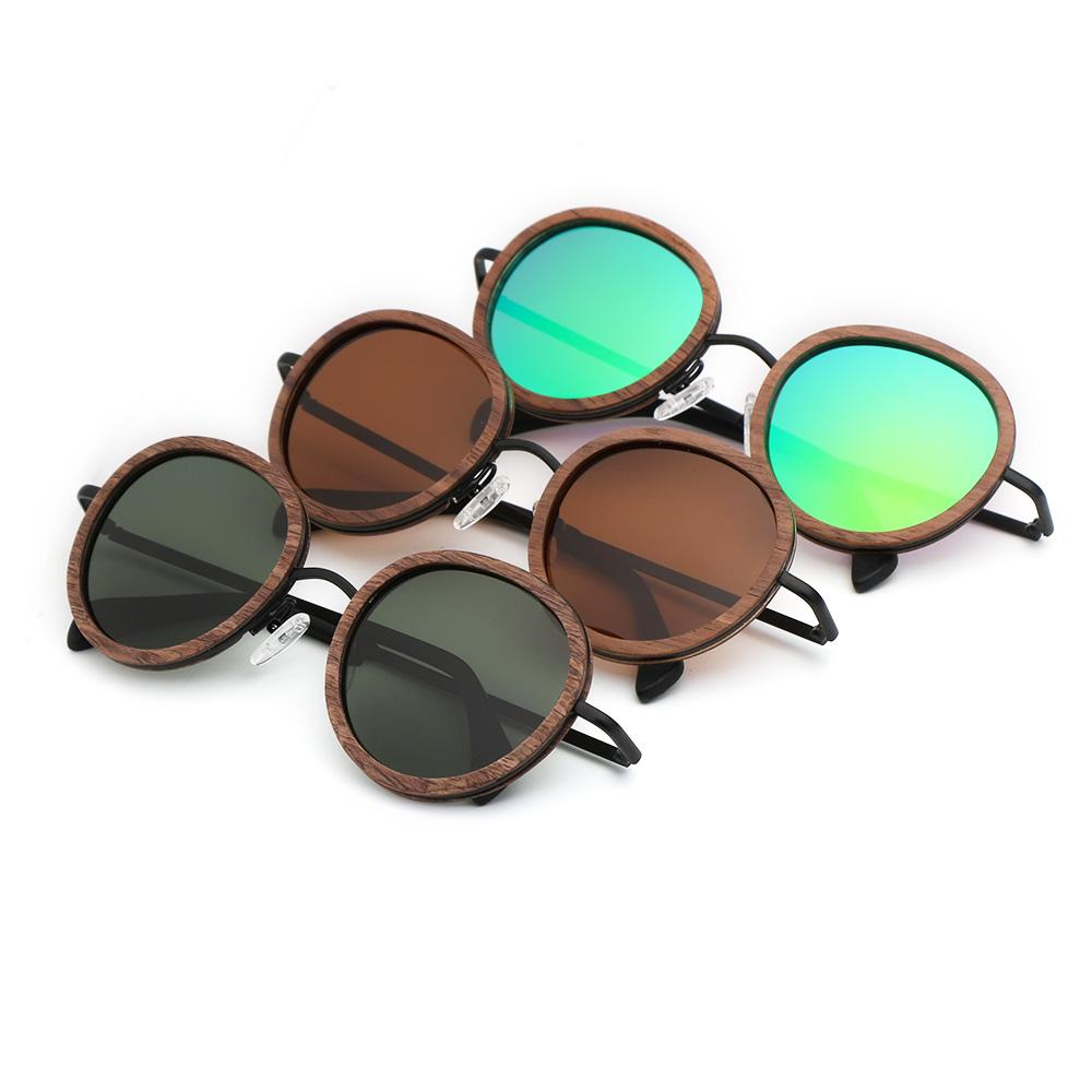83b7426b03 BerWer Wholesale Walnut Wooden Sunglasses Polarized Sun Glasses Ladies Eyewear  Prescription Glasses Online Round Glasses From Heathere