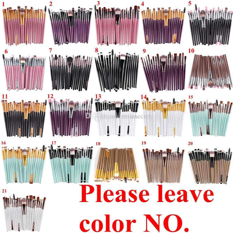 Cosmetic Makeup Brushes Set Powder Foundation Eyeshadow Eyeliner Lip Brush Tool Brand Make Up Brushes beauty tools pincel maquiagem