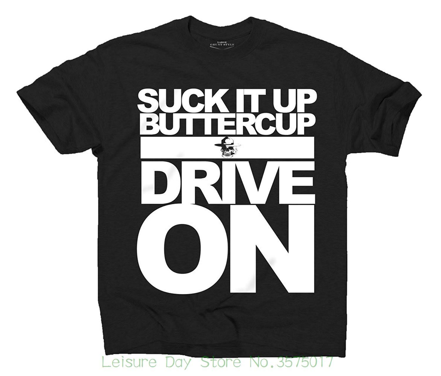 eab612c22090 Fashion 2018 Top Tee Mens Grunt Style Asmdss Suck It Up Buttercup Men's T- shirt