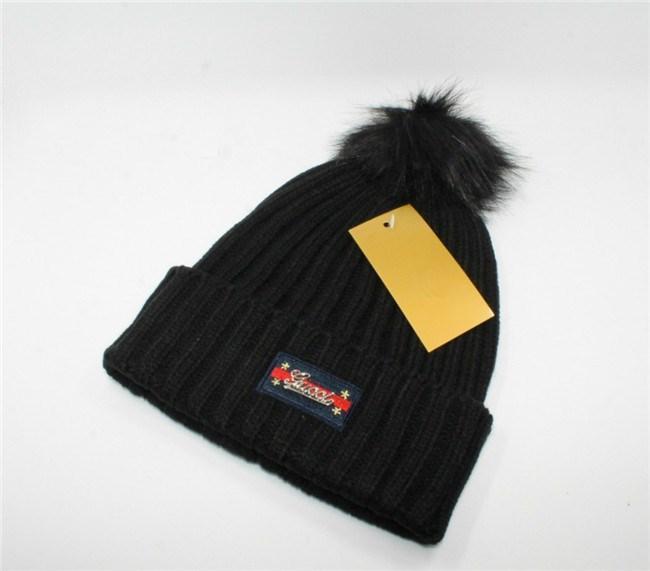 885f34d75a4 2018 New Italy Designer Knit Beanies Cap For Lady Girls Luxury Women Brand  Soft Stretch Warm Hat Faux Fur Poms Wool Winter Hat Pop Skull Cap Custom  Beanies ...