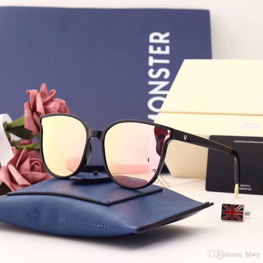 Compre Marte Nova Moda Estilo V Marca Gm Óculos De Sol Das Mulheres Quadro  De Design Quadrado Quadro Absente Óculos De Sol Uv400 Oculos De Sol Feminino  De ... bf756b785a