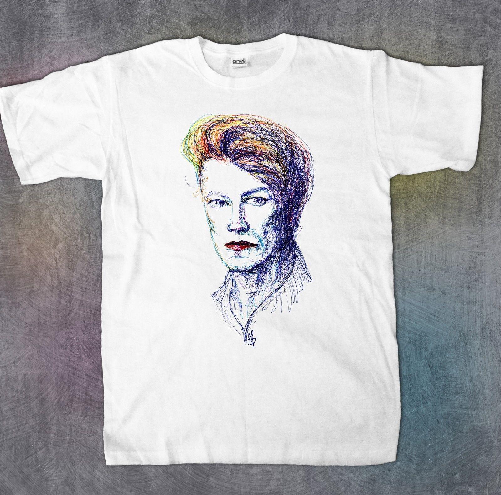 9fca487cc David Bowie - Camiseta gráfica para hombre