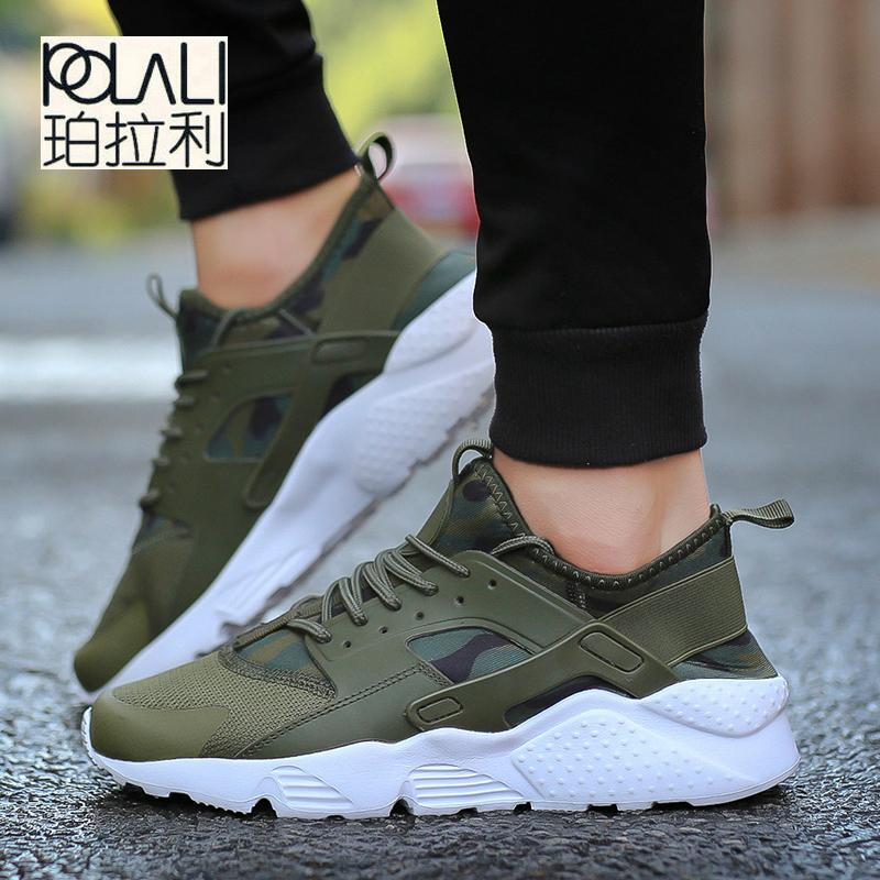 41f26b01ca8a1 POLALI 2018 Unisex Big Size 47 Camouflage Flats Men Shoes Spring Summer  Trainers Male Tenis Shoes Couple Basket Femme Womens Sandals Comfortable  Shoes From ...