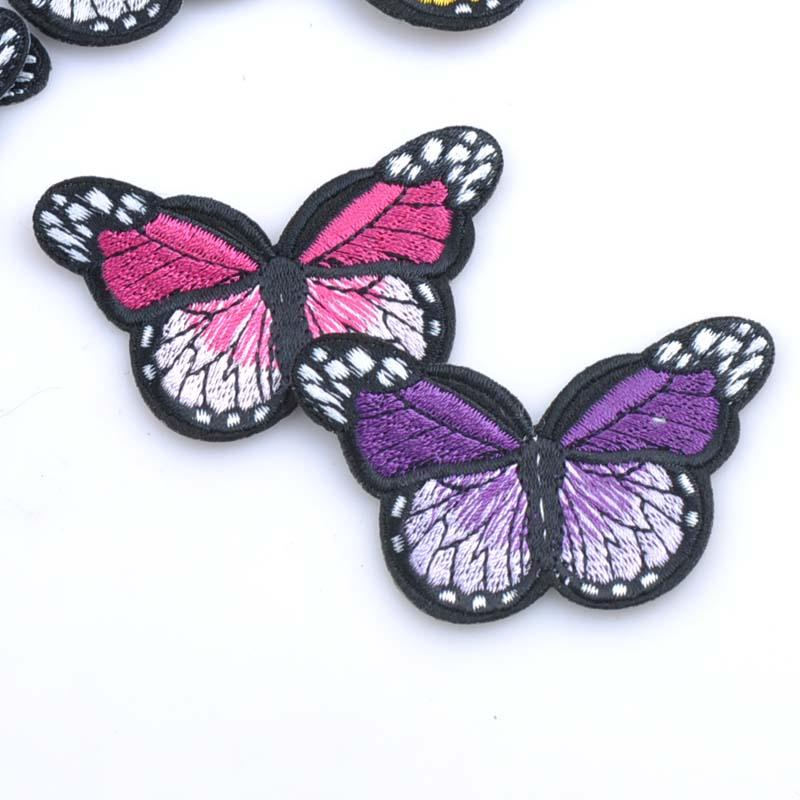 10pcs-Patches-badge-Iron-on-for-clothing-Mixed-Butterfly-decoration-repair-decals-sewing-On-Motif-Patches (1)