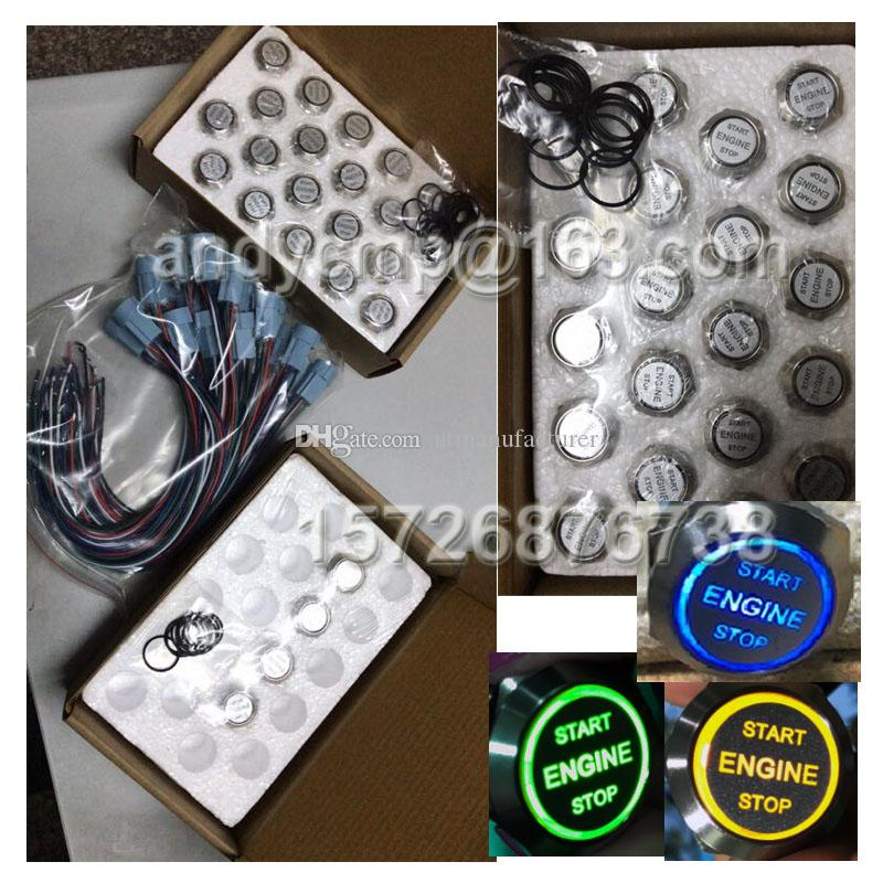 ENGINE START STOP Push Button Power Switch CE TUV ,Motorcycle / Car/ Boat/Trike Vehicle / Auto Lights Button