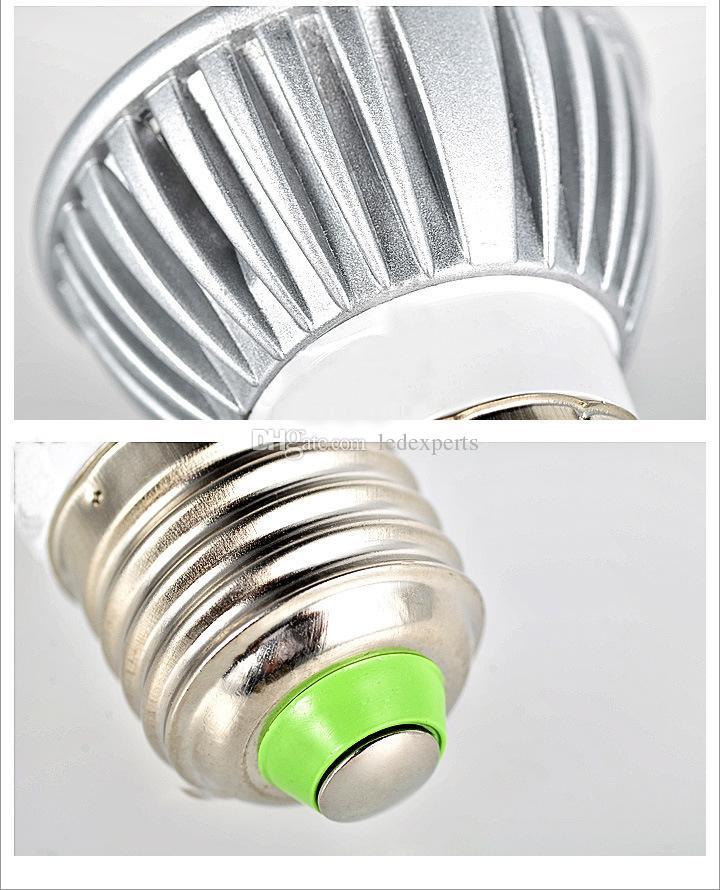 X1000 9W Dimmable LED Bulb 12W 15W Bulb Lights GU10/MR16/E27/E14/B22 LED Spotlights CREE Lights 3x3W Energy-saving Led Lighting Bulbs