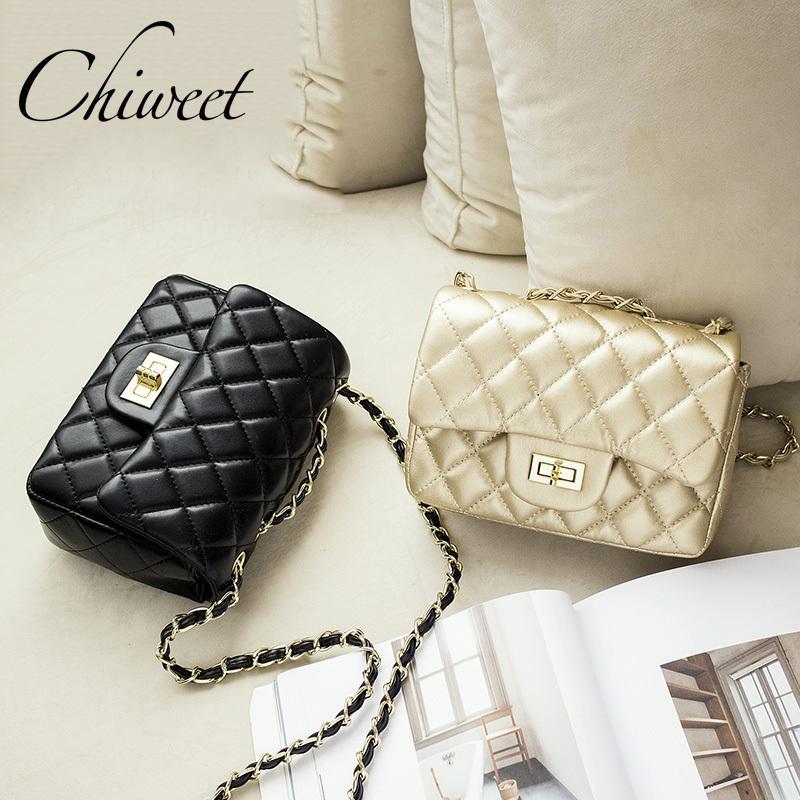 cbfa799d4593b Großhandel Berühmte Marke Leder Messenger Bags Luxus Umhängetasche  Gesteppte Designer Handtaschen Frauen Rosa Tasche Vintage Kleine  Umhängetaschen D18100701 ...