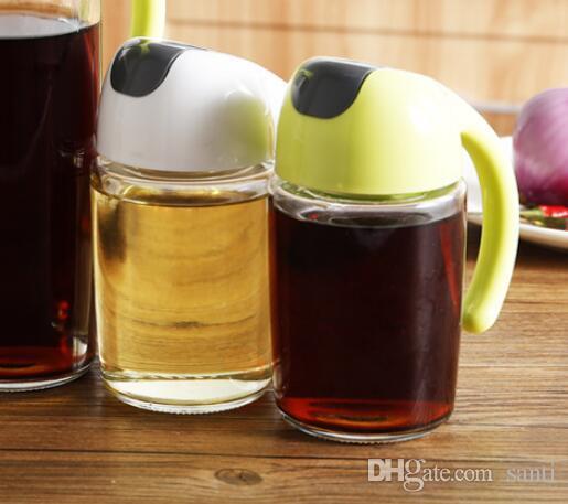 Herb Spice Tools nuevo 300ml Aceite oliva Dispensador Botella Pot a prueba de fugas Cocina Saludable Barco