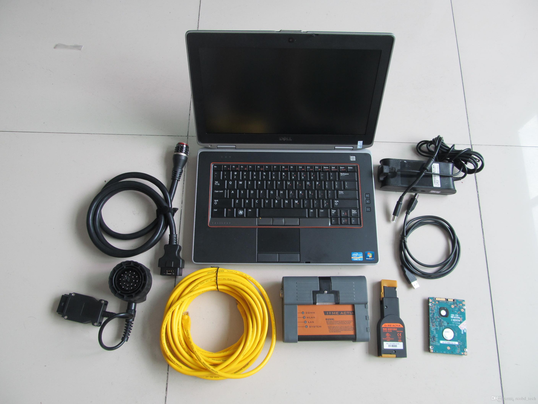 for bmw diagnostic for bmw icom a2 b c + laptop E6420 i5 4g hdd 500gb ista  expert mode windows 7