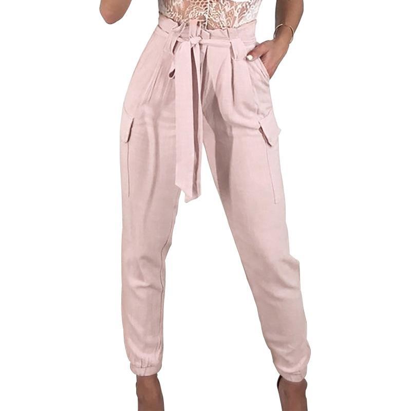 72369fec2367 Acquista 2018 Nuovi Arrivi Moda Cool Hip Hop Donna Pantaloni Bianchi Rosa  Pantaloni Alla Caviglia Pantaloni Harem Pantaloni Della Tuta Da Donna A  $30.6 Dal ...