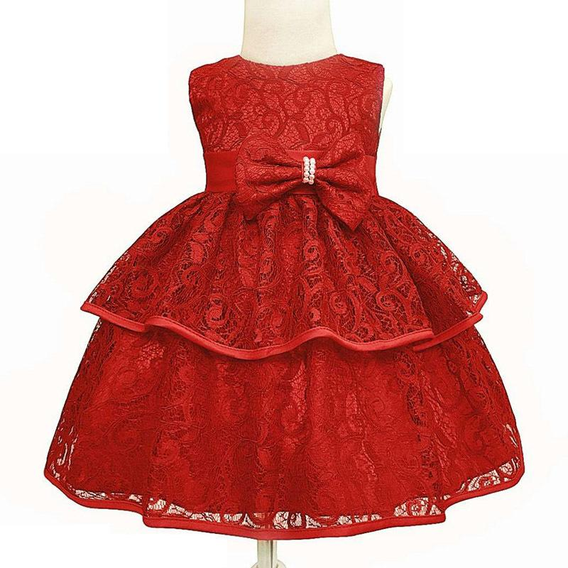 5091a752af3 2019 Baby Girls Princess Dress Christmas Wedding Gown First 1 Year Birthday  Dress Infant Party Dress For Baby Girls Newborn Clothes Y18102008 From  Gou08