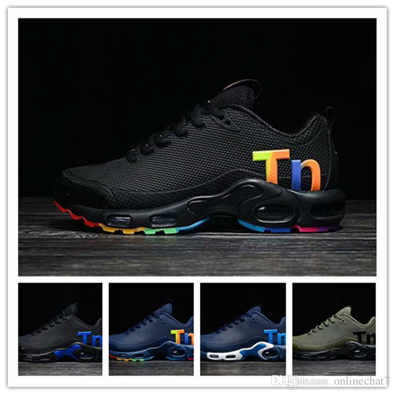 1d637122e9b New Arrival Mens Tn Kpu Leather Sport Shoes Zapatos Mercurial Tn ...