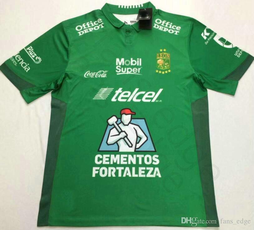 2018 2019 LIGA MX Club Leon Soccer Jersey 17 Boselli 8 Hernandez Tesillo  Moreno Custom Home Green Club Leon F.C. Football Shirt UK 2019 From  Chen shop bef29a816