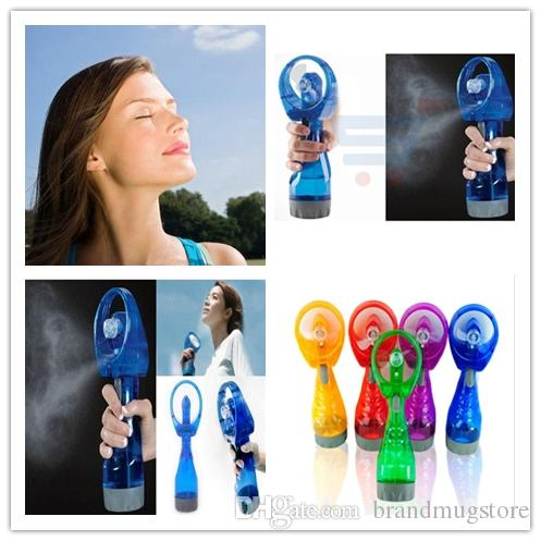 Mini Hand Held Spray Portable Travel Handle Water Spray Cool Mist Fan Bottle Mist Sport Travel Beach Camp A Power Tools