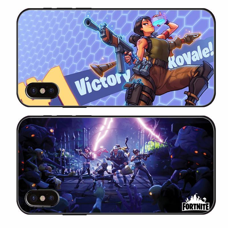 Fortnite Handy Fällen Für Iphone X Xs Max Xr Case Weiche Tpu Rückseitige Abdeckung Für Iphone 6 6s 7 8 Plus Shell Fällen B231