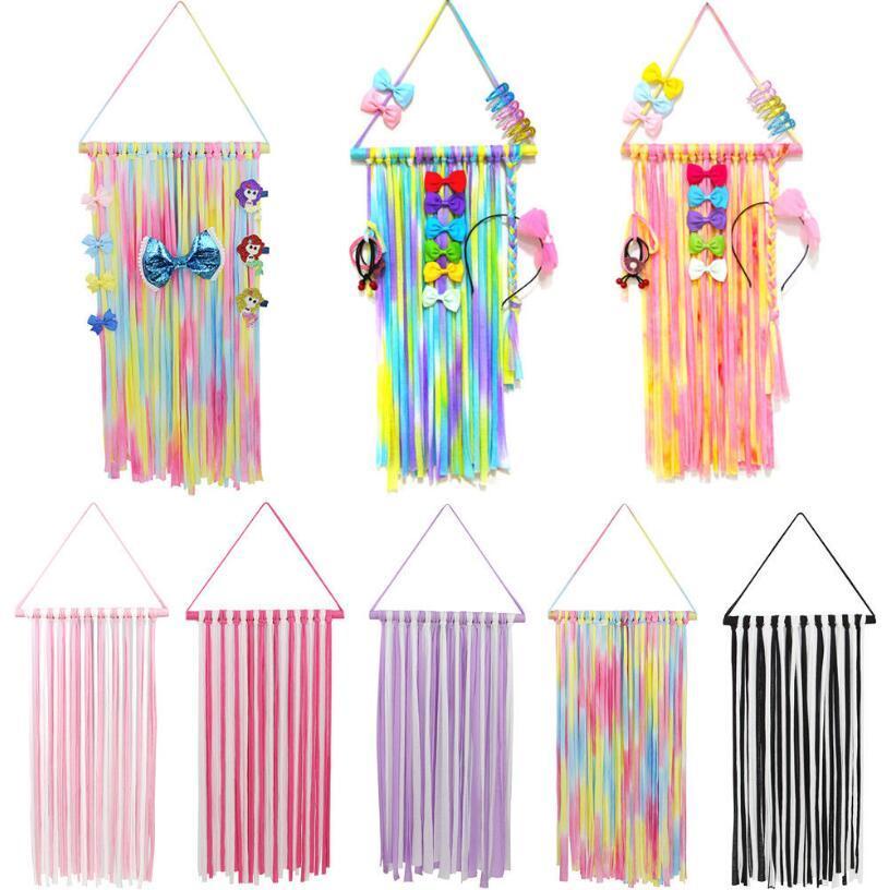 Kids Hair Bow Holder Hanger Girls Hairs Clips Storage Organizer Hair