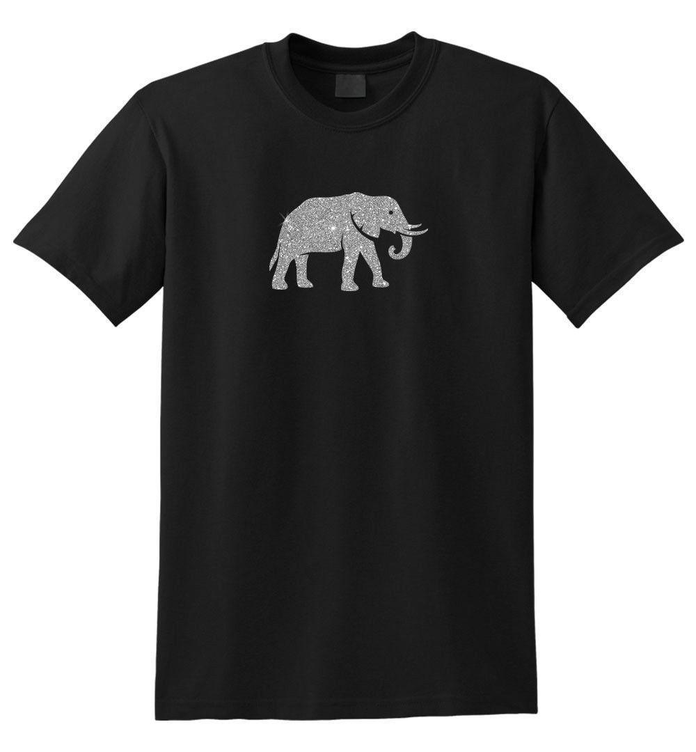 1f29c48d2b1ff Glitter Elephant T Shirt