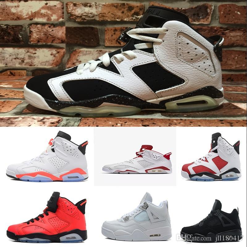 a7306dc508aa5 Compre J07 7 2018 Nike Air Jordan 6 Retro Sneakers Zapatos Originales De  Alta Calidad Para Hombres Y Mujeres De Seis Generaciones Zapatos Deportivos  De ...