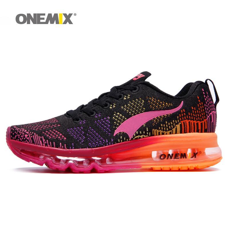 competitive price 6d4e4 f1fa6 Acheter 2019 ONEMIX Chaussures De Course Pour Femme Lady Chaussures De  Marche Respirantes Mesh Chaussures De Sport Pour Femmes Taille EU 36 40  Livraison ...