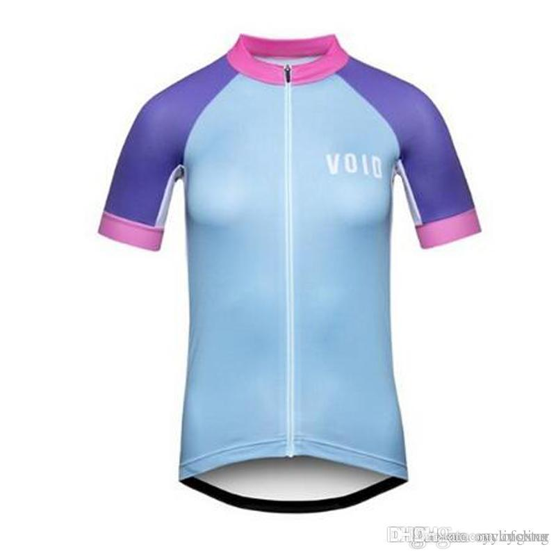 3d6799856 2018 Summer Short Sleeve Shirts VOID Women Tops Cycling Jersey Ropa ...