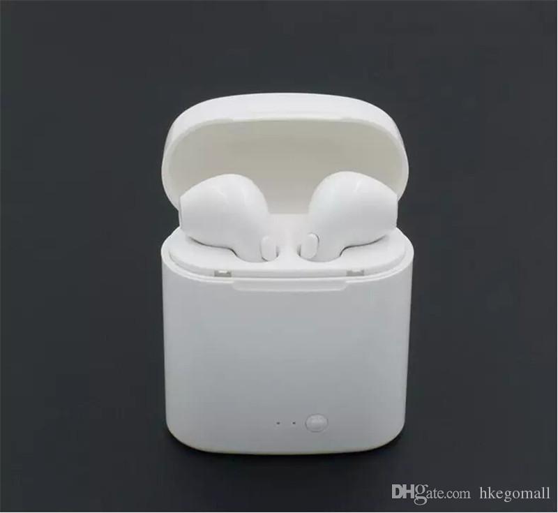 I7 I7S TWS Twins Bluetooth Écouteurs Écouteurs Mini Casque Sans Fil avec Micro Stéréo V4.2 Casque pour Iphone Android avec le Paquet de détail
