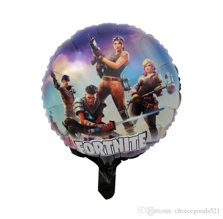 Fortnite Aluminum Foil Balloon Kids Toy Large Balloon Birthday Party Supplies Christmas Halloween Decoration 18 inch