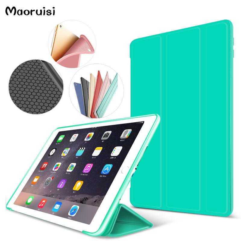 brand new 74cf5 43183 Smart Case for ipad air2 Flip Ultra Thin Stand Cover case for Apple iPad 6  PU Leather for ipad air 2 case