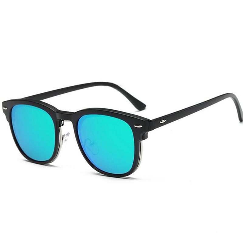 2f55e074e8e4 2019 KESMALL New TR90 Glasses Frame Magnetic Clip On Sunglasses Women  Myopia Eyeglasses Frames Men Fashion Clips On Sun Glasses XN93T From  Milknew