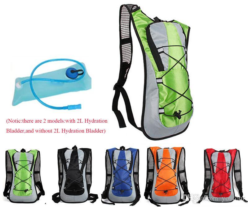 Outdoor sports Water Bag Water back Pack 5L Bladder Hump Backpack TPU Pouch Hydration System Hiking Climbing Cycling Bike Bicycle Backpack