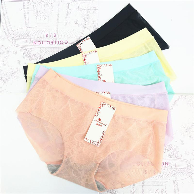 0f4c23608 2019 2016 New Arrival Women S Sexy Briefs With Seamless Panties Comfort  Girls Slim Lace Low Waist Underwear From Hongxigua