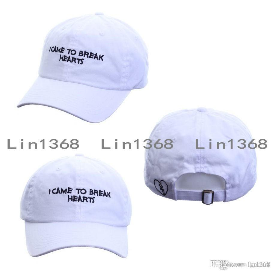 bfb8c7306d8 Unisex Mens Womens I Came To Break Hearts Dad Hat Baseball Cap Adjustable  Trucker Hats Almost Famous Caps Wholesale Hats Caps Online From Godhat