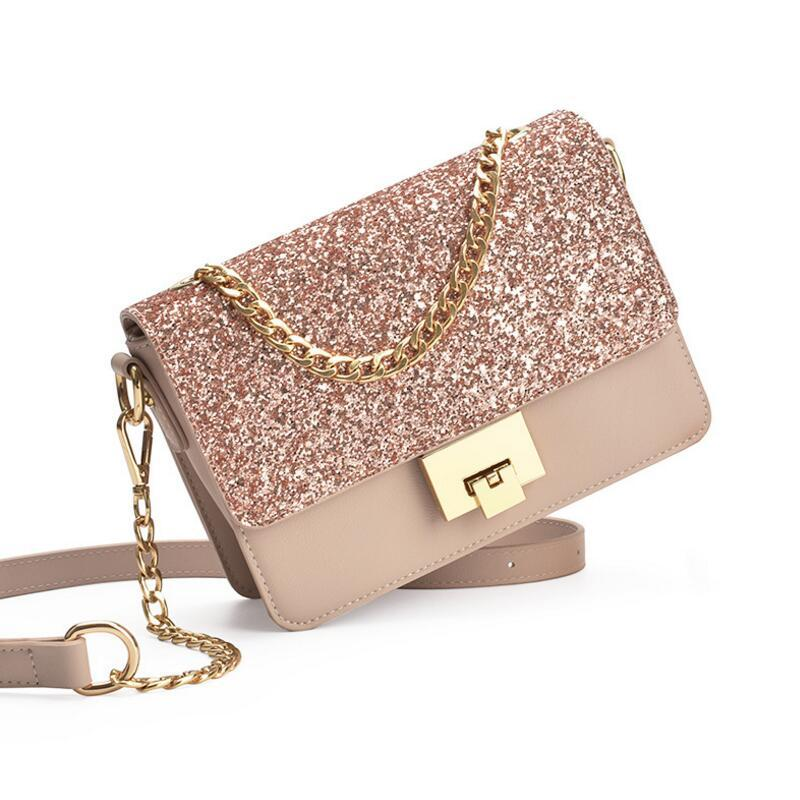 72f7660547 New Fashion Dazzling Glitter Sparkling Bling Sequins Evening Party Cross  Body Bag Handbag Women Shoulder Bag Free Shipping