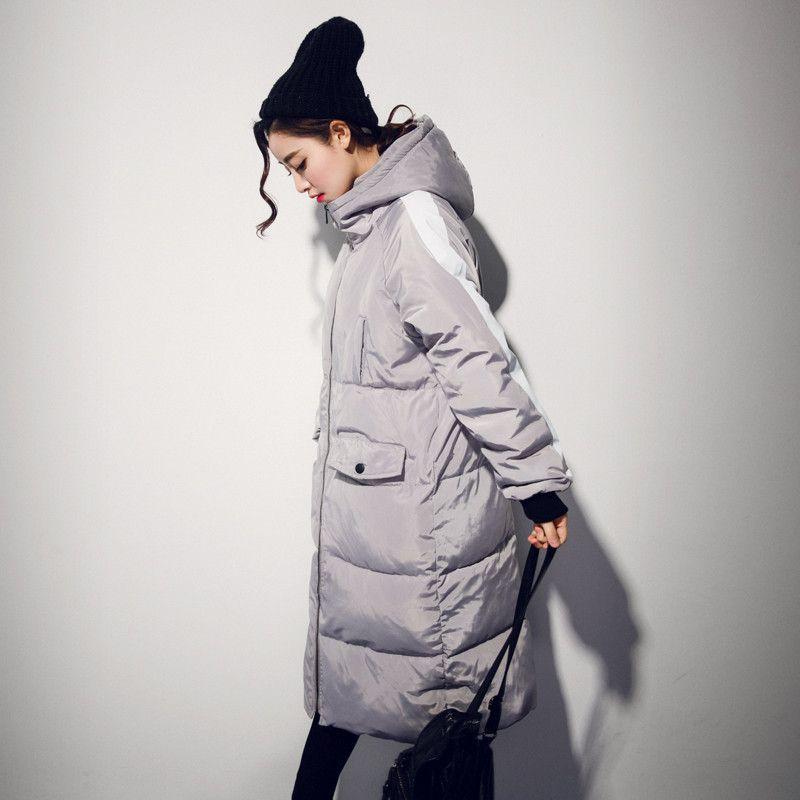 f7ed82081fe Plus Size 3XL Winter Jacket Women Hooded Thicken Bread Coats Wadded ...
