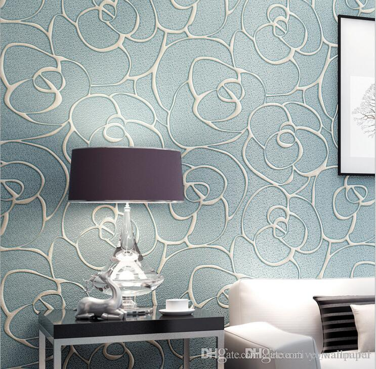 Grosshandel Europaischen Stil Tapeten Wohnzimmer Schlafzimmer Wand