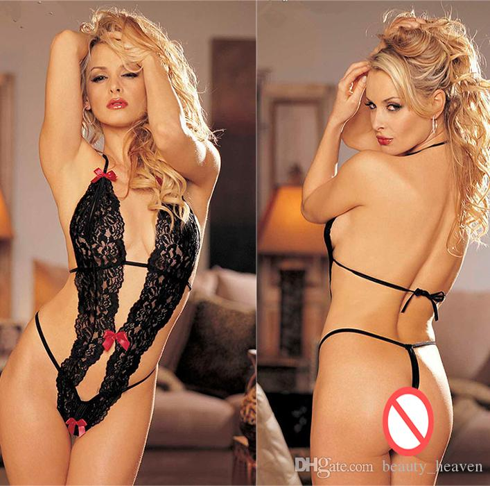 3e3c81058f Sexy Teddy Lingerie Hot Erotic Exposed Breast Women Underwear Sexy ...