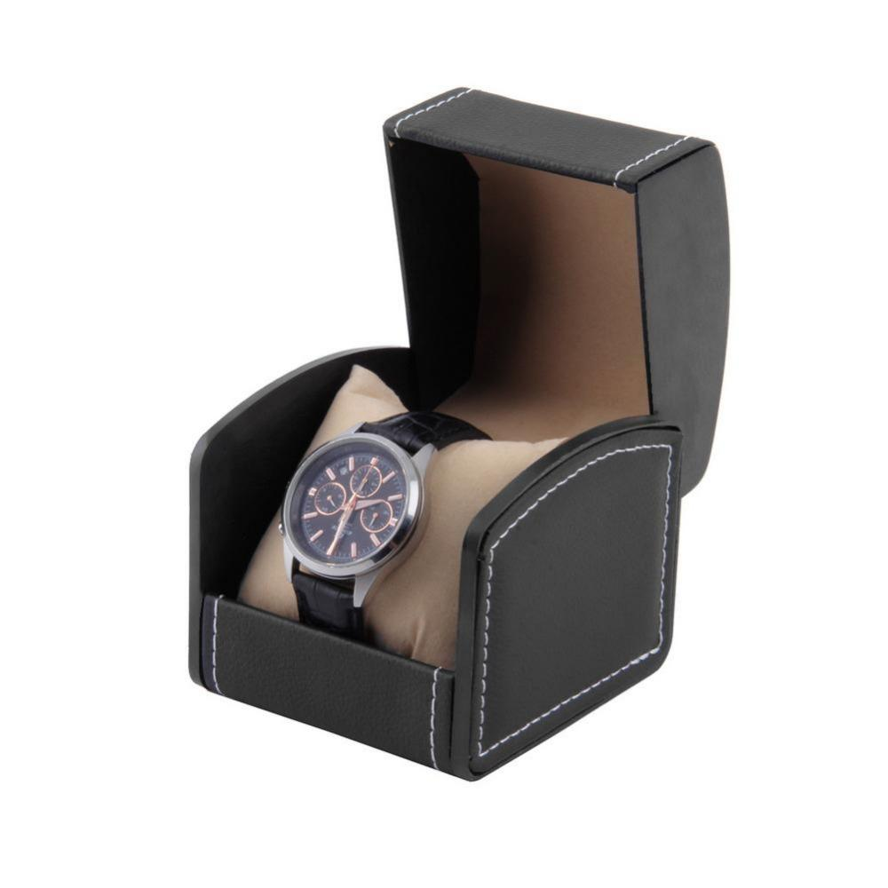 2-colors-luxury-watch-box-leather-jewelry.jpg  sc 1 st  DHgate.com & Luxury Watch Box Leather Jewelry Wrist Watches Holder Display ...