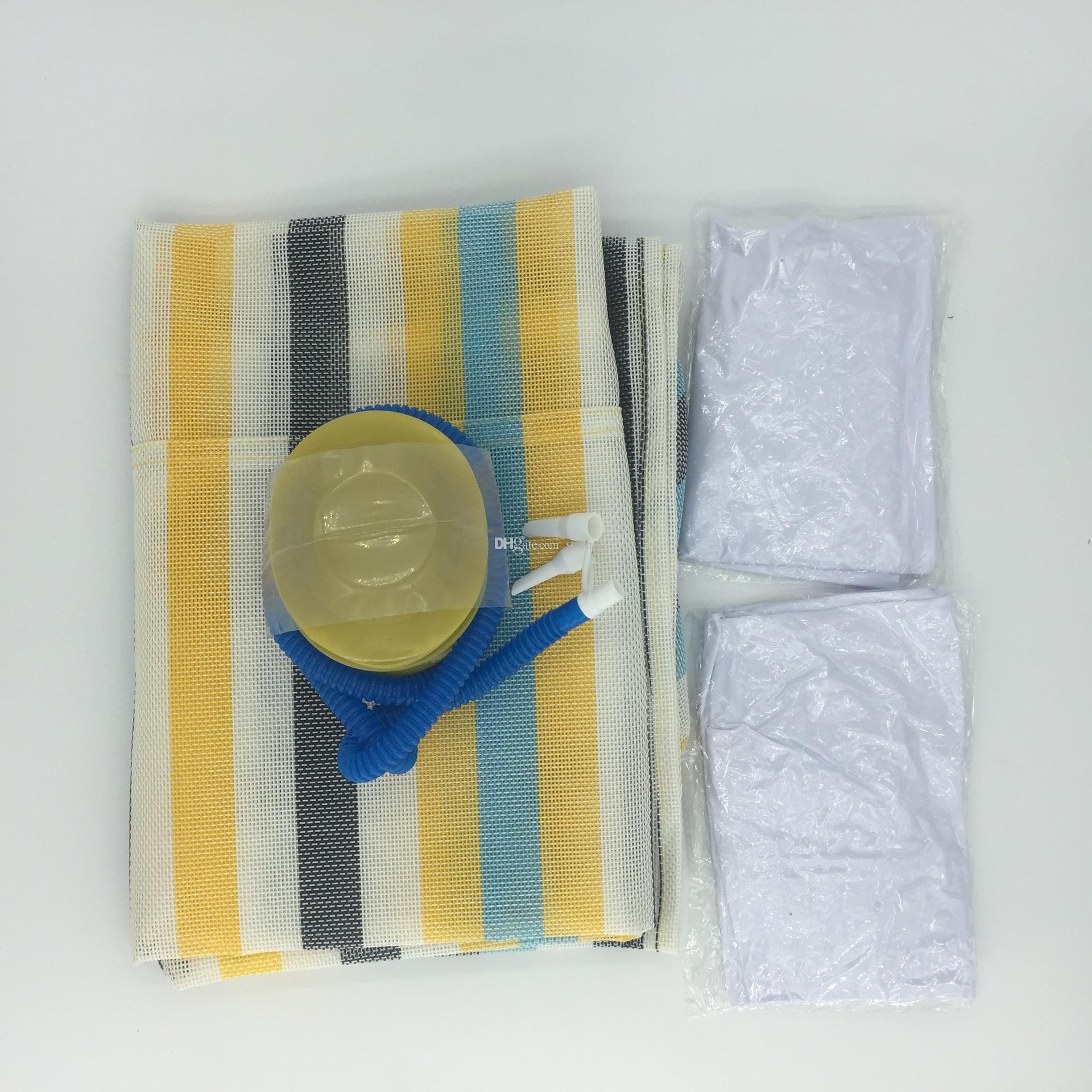 Moda Şişme Yüzer Su Hamak Yüzme Havuzları Spalar Yatak Sandalye Plaj Oynama Aracı 70 * 132 cm WX9-591