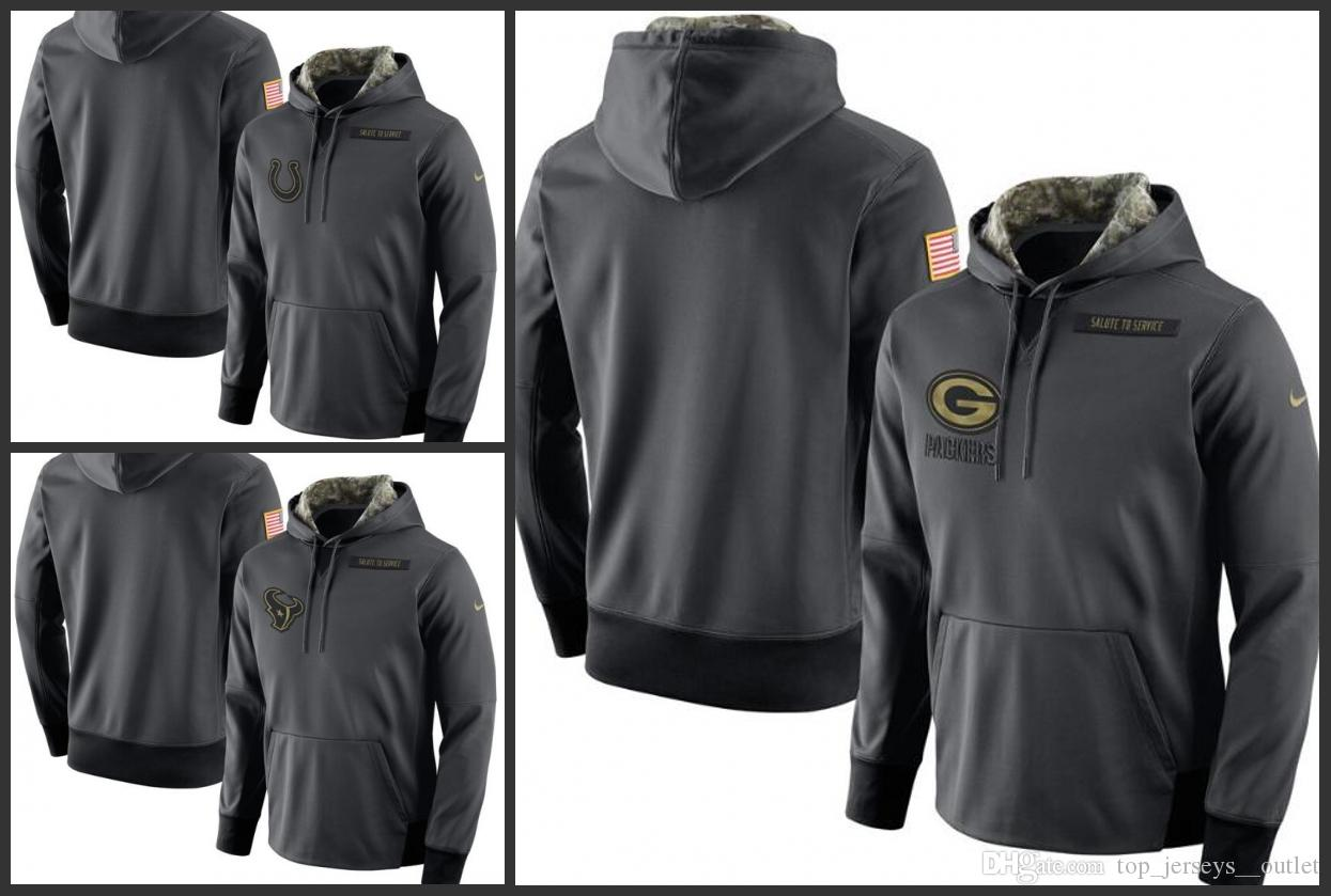 2019 Indianapolis Colts Houston Texans Green Bay Packers Men Anthracite  Salute To Service Player Performance Hoodie From Nfl outlet jersey 95b15a0cc