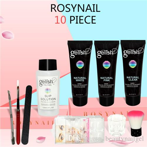 Poly Gel Top Quality Soak Off Gel Nail Polish Gelish Polygel Kits Acrylic Nail Builder Gel 30g