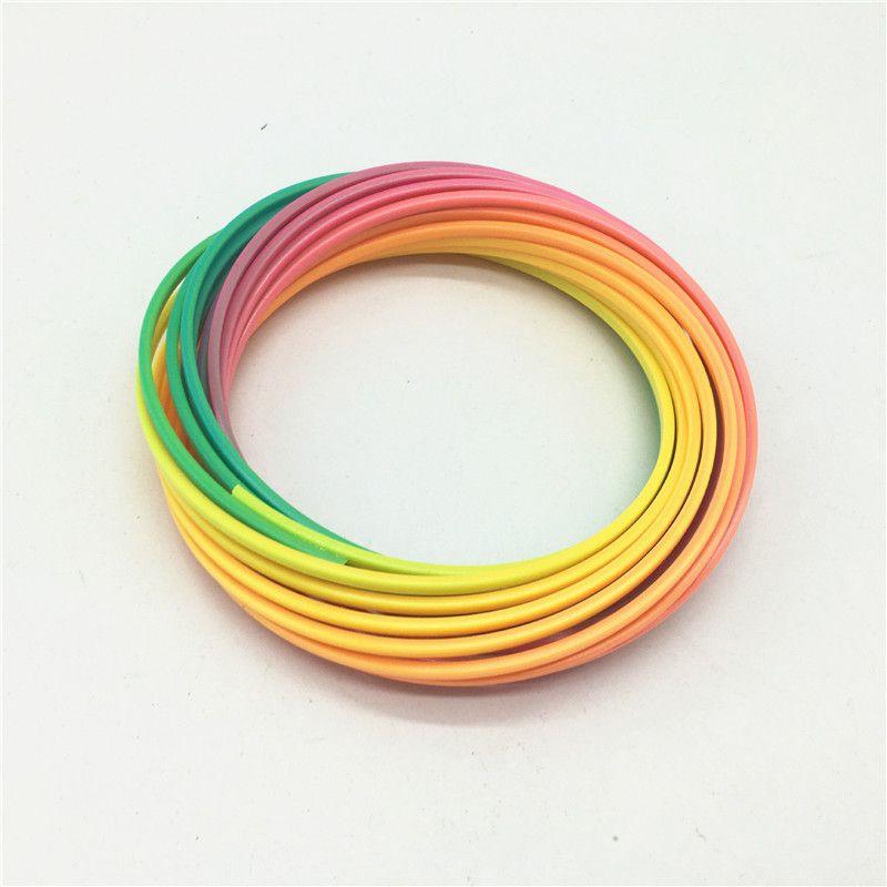Multi-couleur Flow Toys Bracelet Magique Enfants Toroflux Flow Anneau Décompression Exercice Artifact Nouveauté Jouets Haute Qualité Livraison Gratuite