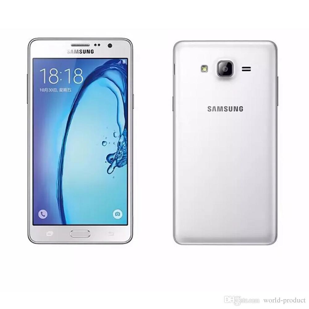 الأصلي تم تجديده Samsung Galaxy On5 G5500 1.5 جيجابايت RAM 8GB ROM 5.0 بوصة رباعية النواة غير مقفلة الهواتف