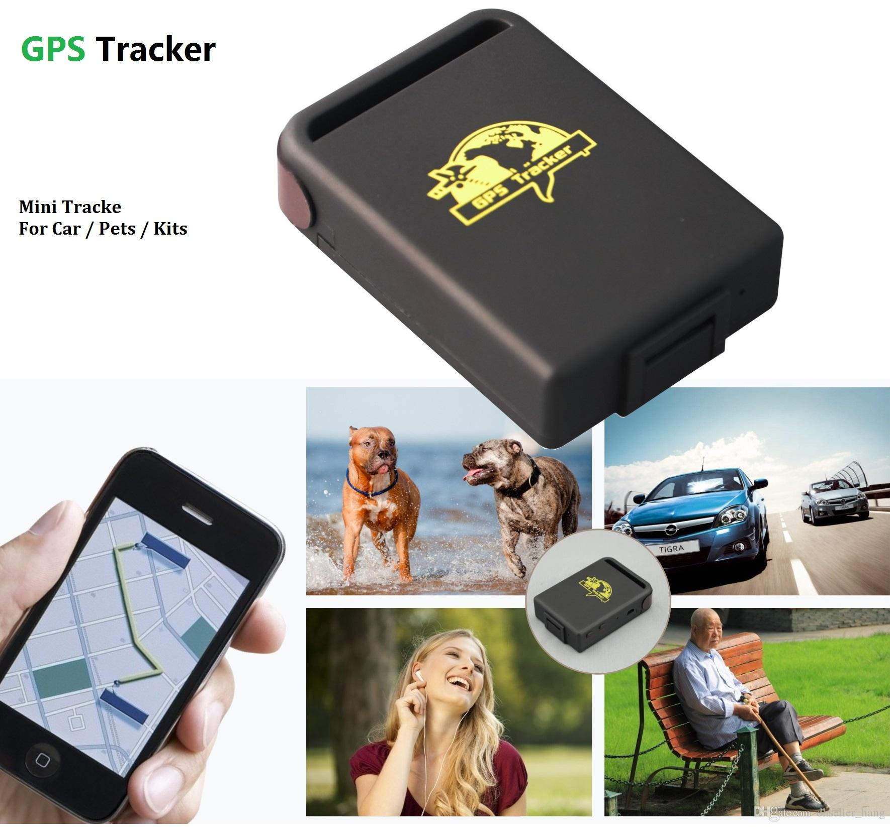 Mini Car GPS Tracker Portable Quad Band Global Vehicle activity Tracker Offline Real Time GSM/GPRS/GPS Device For Children Pet Vehicle