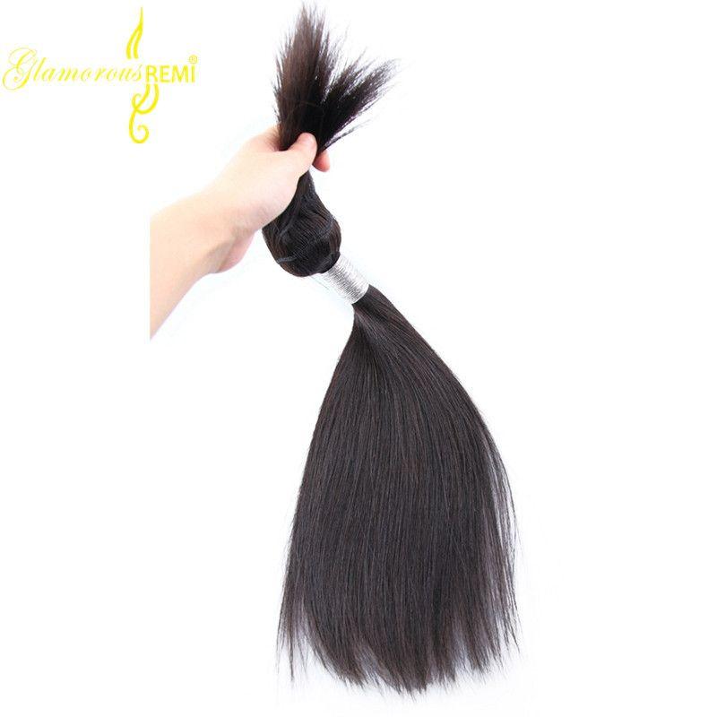 Brazilian Peruvian Malaysian Straight Hair Braid In Bundles 10-28 Inch No Sew No Crochet No Glue 100% Remy Human Hair Weave