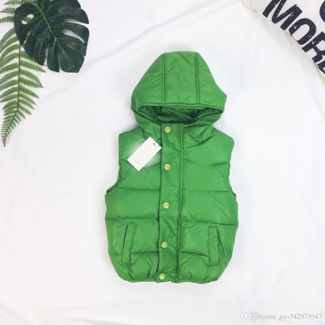 ecf2c8abe787 New Autumn Winter Girls Boys Vests Children s Cotton Warm Vest Baby ...