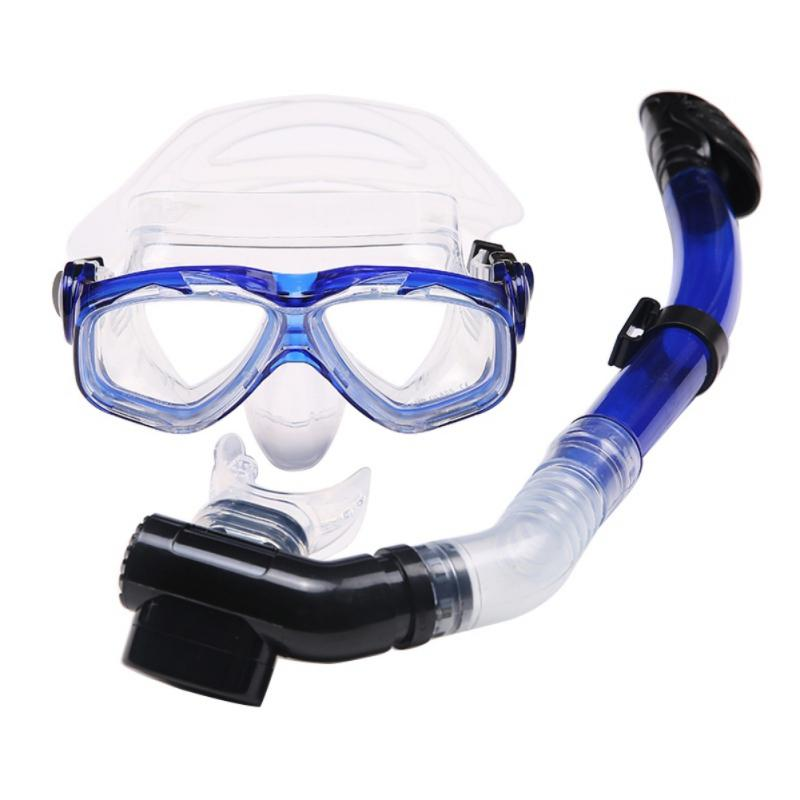 0ee062061232 2019 Diving Goggle Men And Women Swim Snorkel Adult Scuba Tube Snorkeling  Swimming Glasses Diving Mask Underwater Breathing Equipment From Vanesse