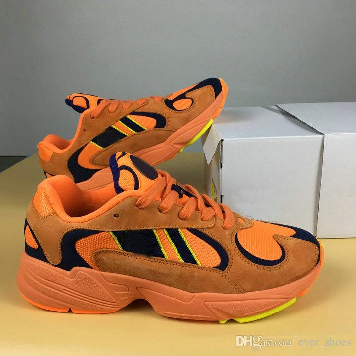 fashion Style cheap price 2018 YUNG-1 Kanye West 700 Wave Runner Boost Calabasas Fashion Orange Red Designer Casual Sports Running shoes trainer Sneakers Size 36-45 clearance for sale free shipping footaction 0mD4S9o3e