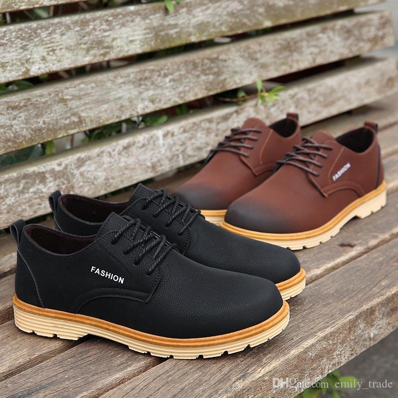 De Boda Diseñador 2018 Cuero Zapatos Compre Hombre ZOCnEqFxIw