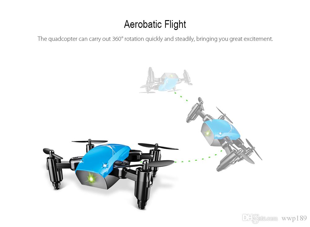 WIFI FPV Mini Drone with Camera 2.4G 4CH 6-axis RC Quadcopter Nano Drone RC WIFI FPV Drone Phone Control Toy